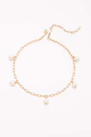 Nakamol  Necklace Long W/ Gold Disc - Product Mini Image