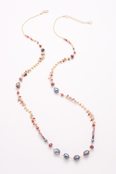 Nakamol Necklace Long With Mixed Bead - Alternate List Image