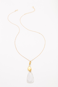 Nakamol Necklace Long With Stone Drop - Alternate List Image