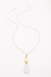 Nakamol Necklace Long With Stone Drop - Product Mini Image