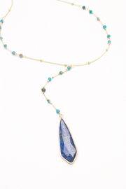 Nakamol Necklace Long Y With Drop - Product Mini Image