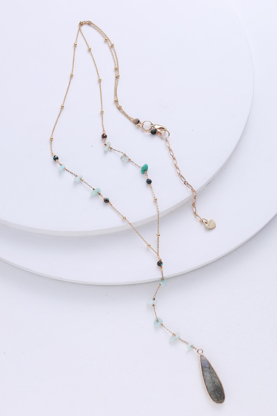 Nakamol Necklace Long Y With Drop - Main Image