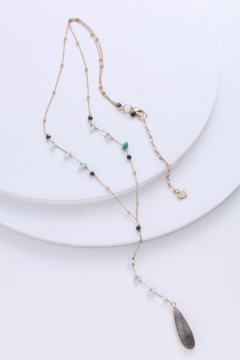 Nakamol Necklace Long Y With Drop - Alternate List Image