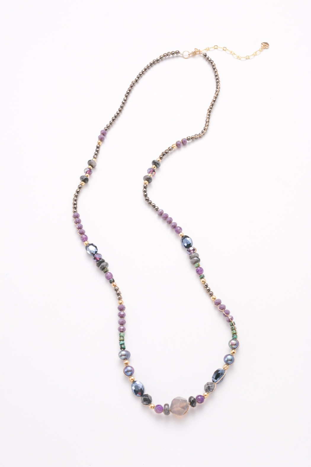 Nakamol Necklace Mixed Bead - Front Cropped Image