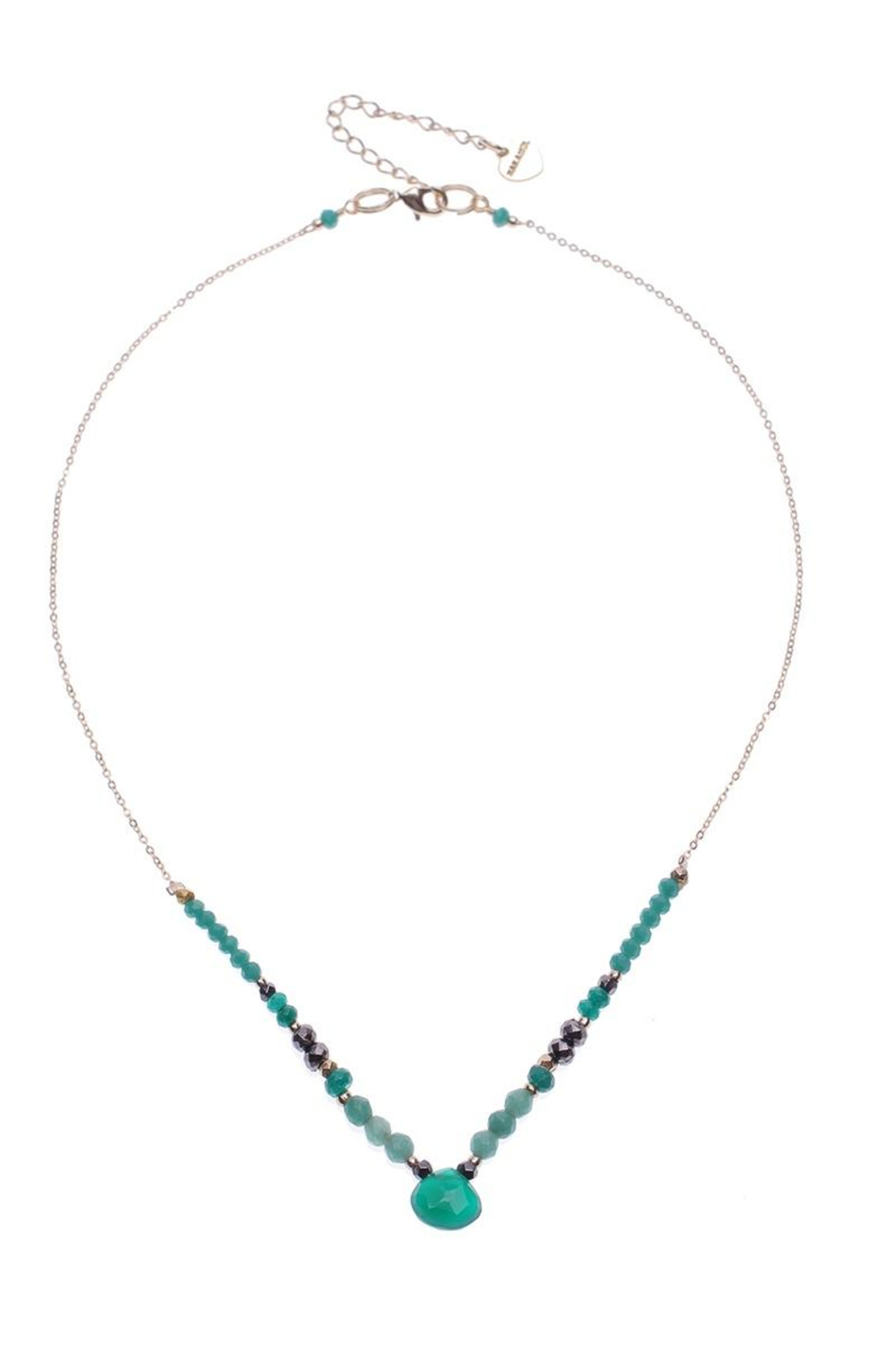 Nakamol Necklace Single Layer With Teardrop - Main Image