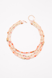 Nakamol  Necklace Statement 5 Layer - Front cropped