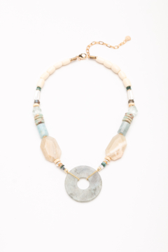 Nakamol Necklace Stone With LG Disc - Alternate List Image