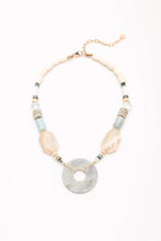 Nakamol Necklace Stone With LG Disc - Product Mini Image