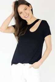 Six Fifty Neckline Cutout TShirt - Product Mini Image