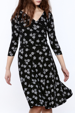 Neda Floral Surplice Dress - Product List Image