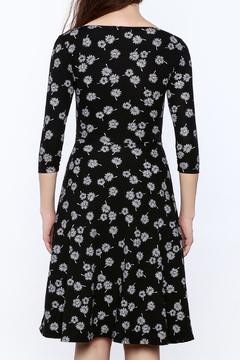 Neda Floral Surplice Dress - Alternate List Image