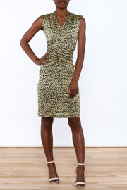 Neda Lace Bodycon Dress - Front full body