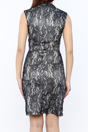 Neda Lace Bodycon Dress - Back cropped