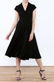 Neda Luxe Couture Jersey Flare Dress - Product Mini Image
