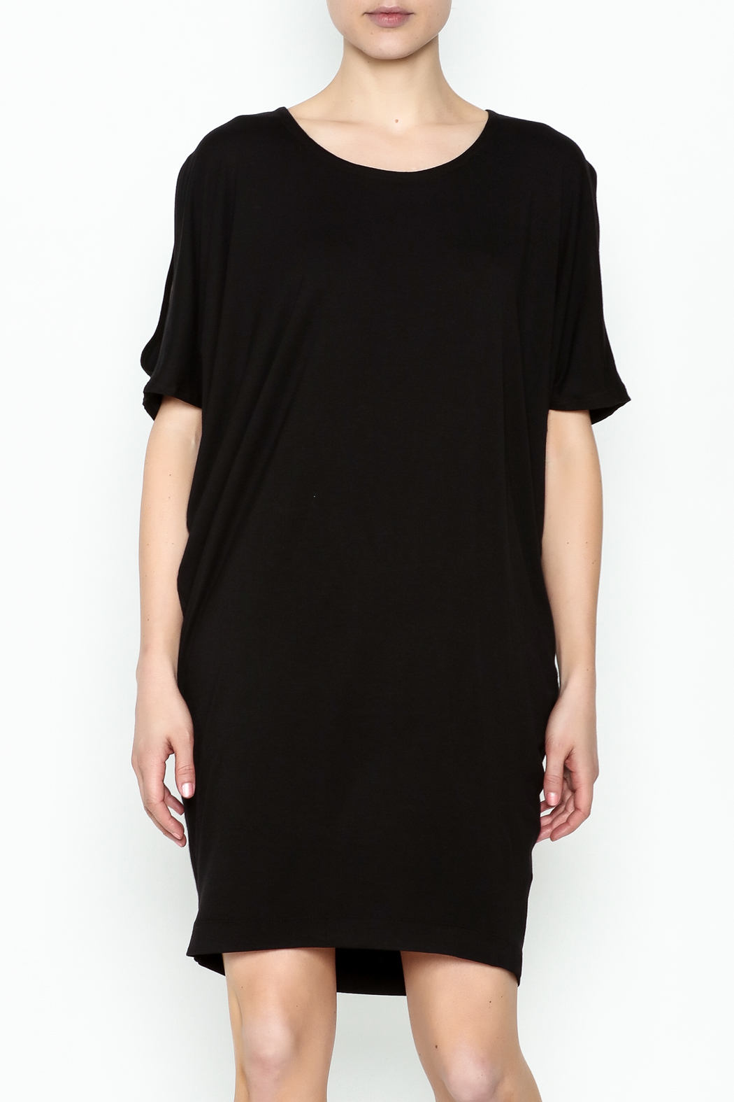 Neda Shirt Dress - Front Cropped Image