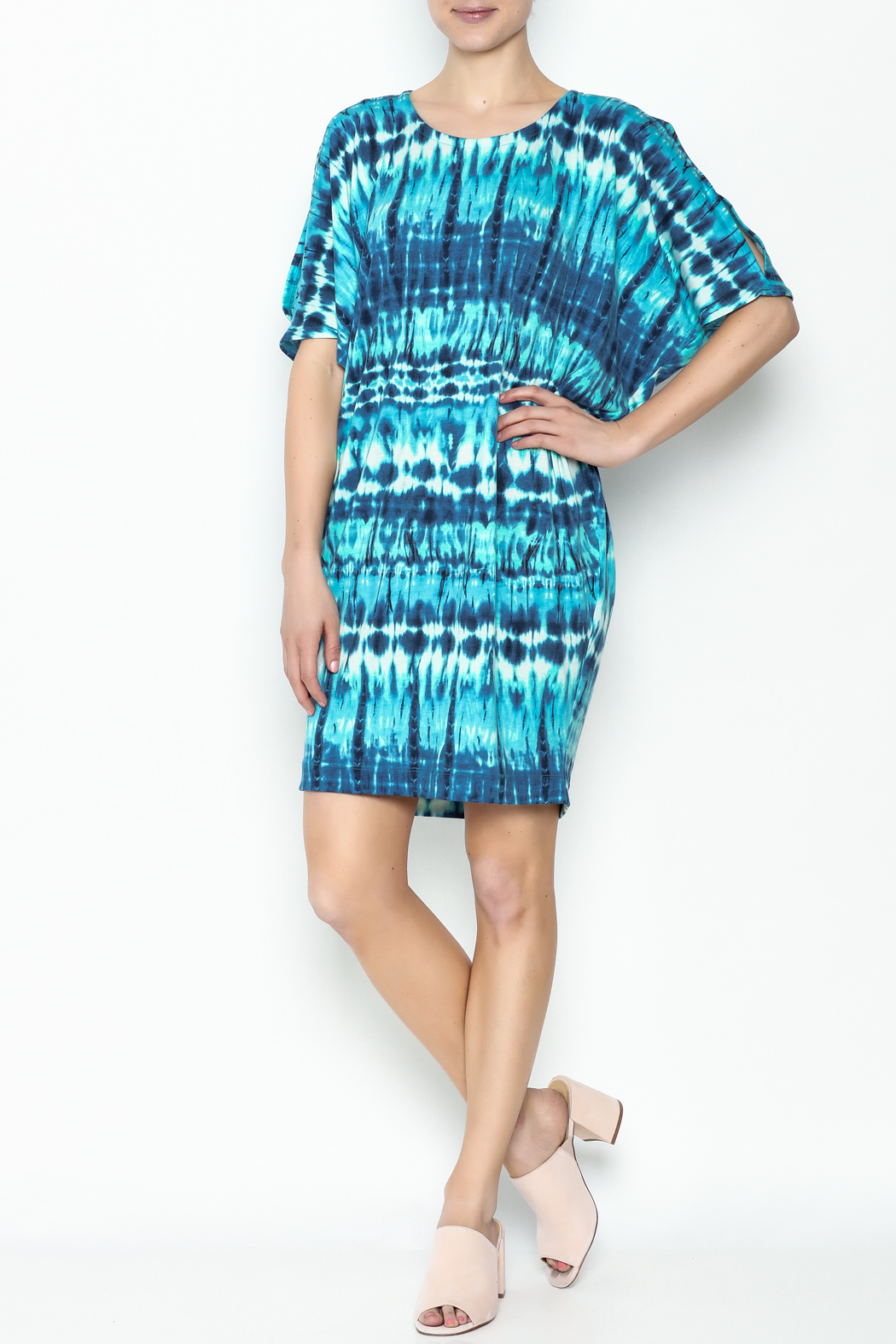 Neda Shirt Dress - Side Cropped Image