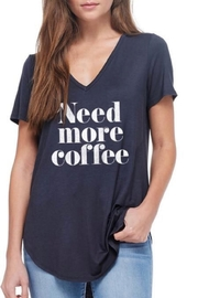Zutter Need-More-Coffee Graphic Tee - Product Mini Image