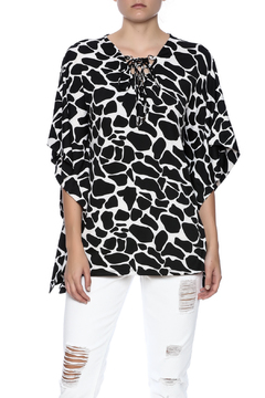 Shoptiques Product: Black And White Top