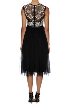 Shoptiques Product: Black Sequin Tulle
