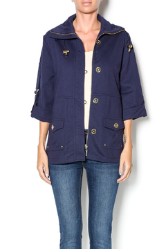 Shoptiques Product: Navy Zippered Jacket