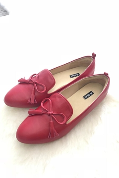 Be Mae Shoes Neena Leather Loafer - Alternate List Image