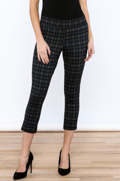 Shoptiques Product: Plaid Cropped Pants