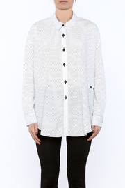 Neesh by D.A.R. Loose Fit Polkadot Shirt - Side cropped