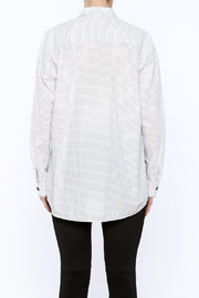 Neesh by D.A.R. Loose Fit Polkadot Shirt - Back cropped