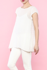 Shoptiques Product: White Sleeveless Blouse