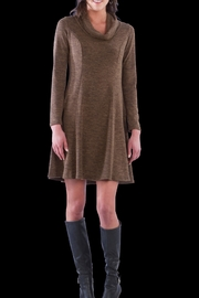 Neesha Cowl Sweater Dress - Front cropped