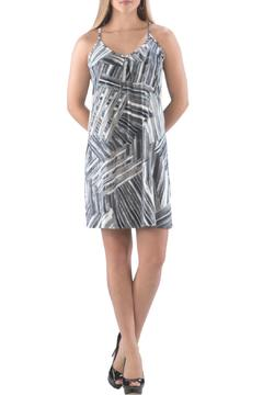 Shoptiques Product: Grey Patterned Dress
