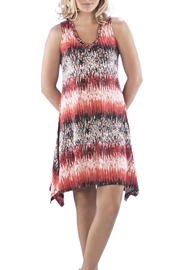 Neesha Printed Pattern Dress - Product Mini Image