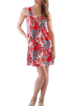Neesha Red Patterned Dress - Product List Image