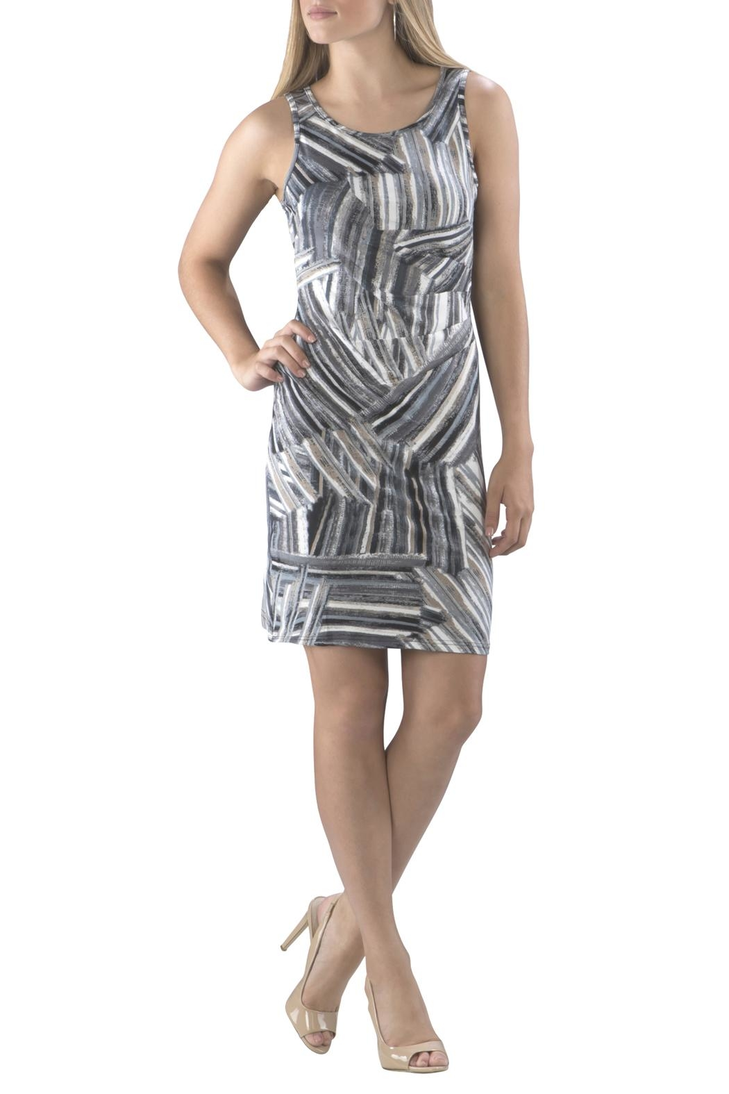 Neesha Multicolored Sheath Dress - Main Image