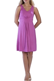 Neesha Sleeveless Berry Dress - Product Mini Image