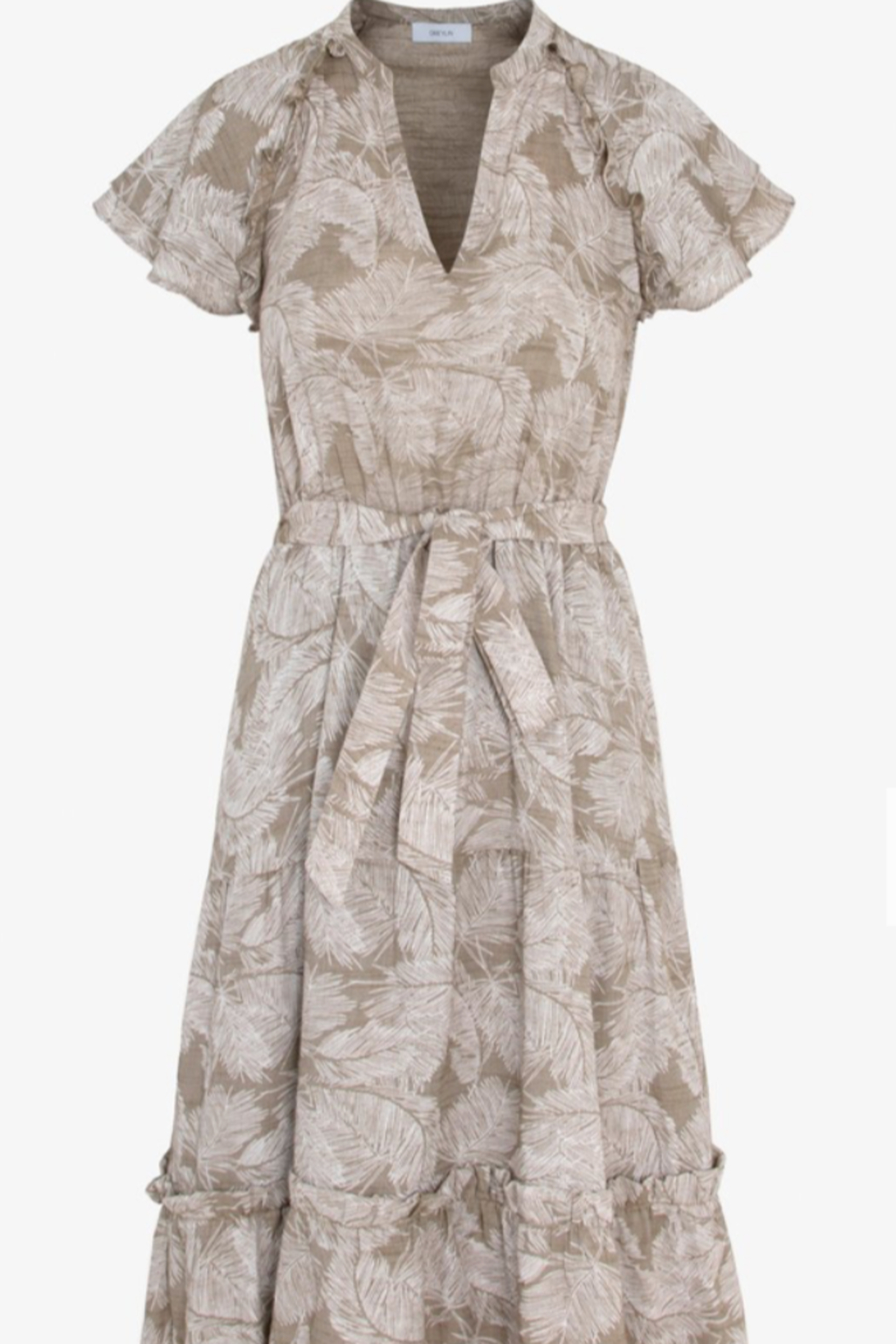 Greylin Neila Tiered Maxi Dress - Front Cropped Image