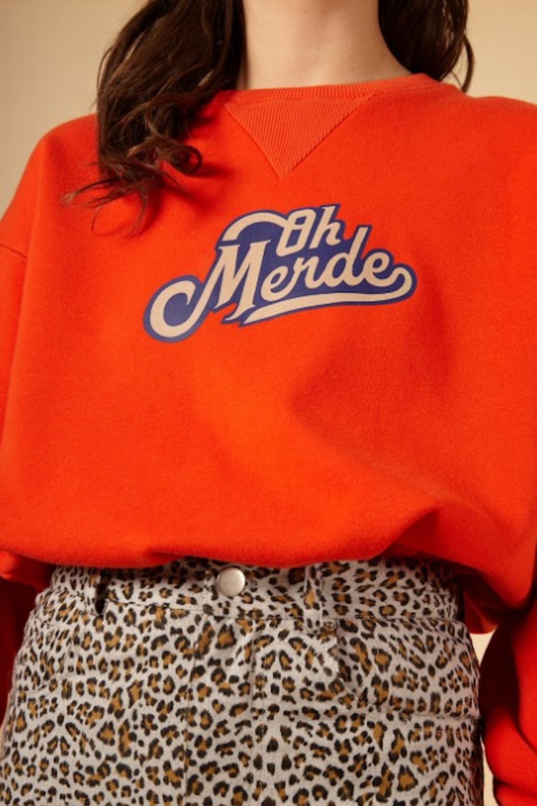 FRNCH Nelie Sweatshirt - Side Cropped Image