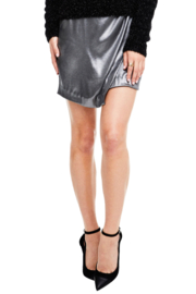 ASTR NELL SILVER SKIRT - Product Mini Image