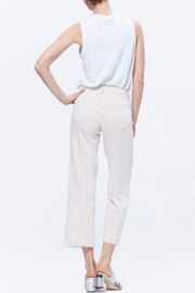 Paige Nellie Culotte - Blossom Pink Stripe - Back cropped