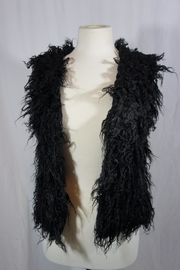 nellis Black Fur Vest - Product Mini Image