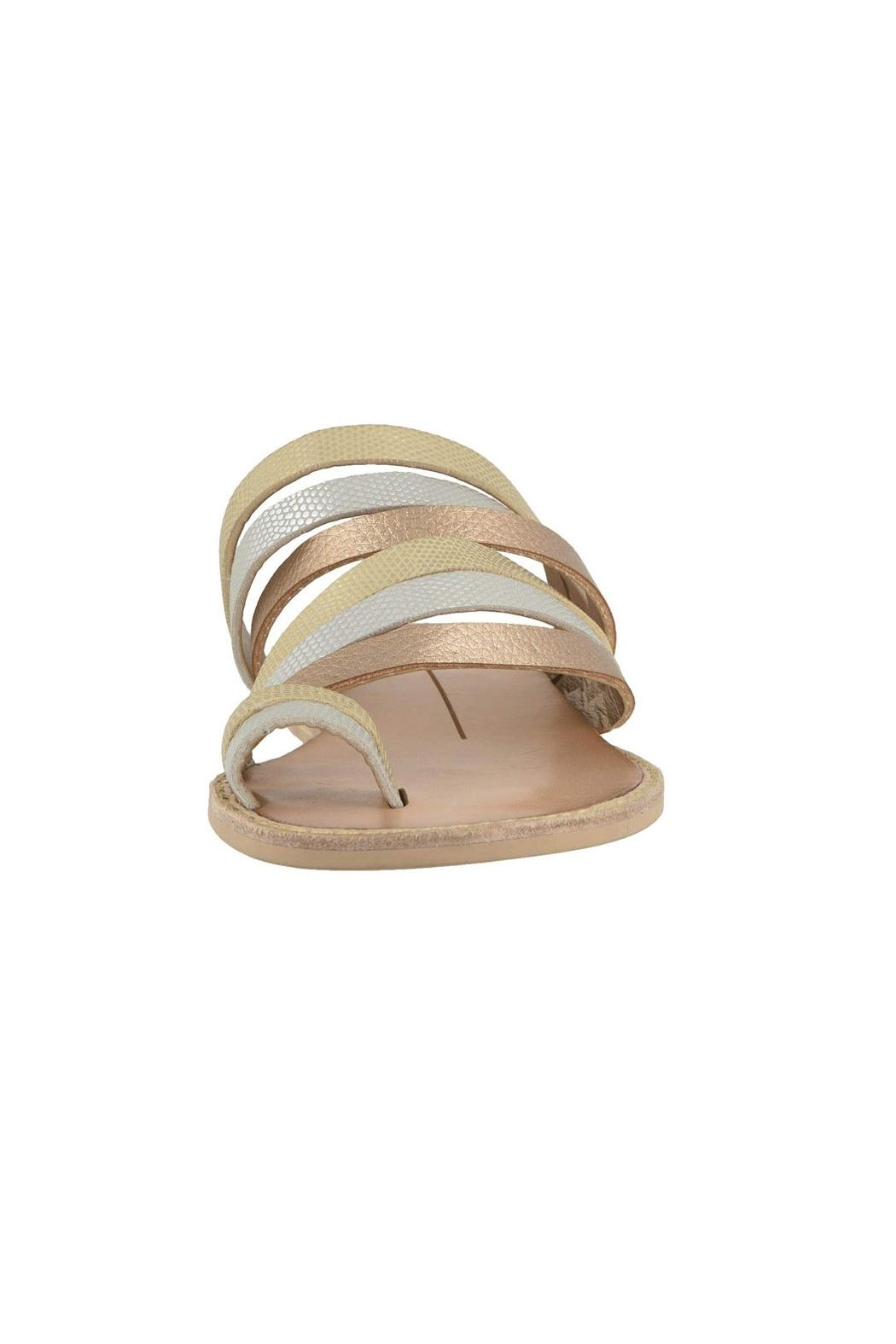 Dolce Vita Nelly Metallic Wedge - Front Full Image