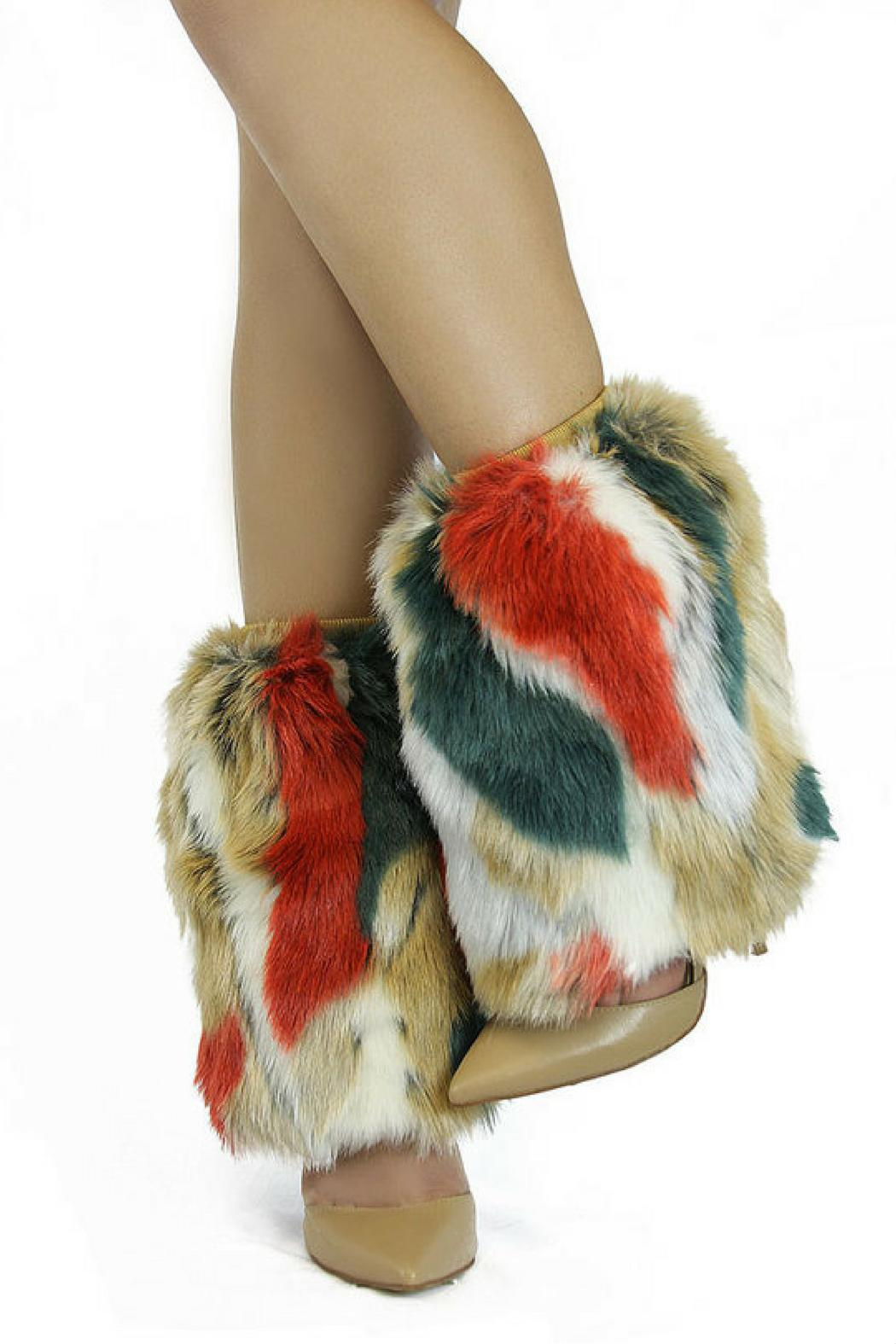 Nelly B Faux Fur Warmers - Main Image