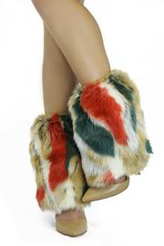 Nelly B Faux Fur Warmers - Product Mini Image