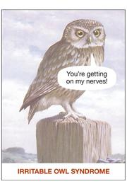 Nelson Lane Irritable Owl Syndrome Card - Product Mini Image