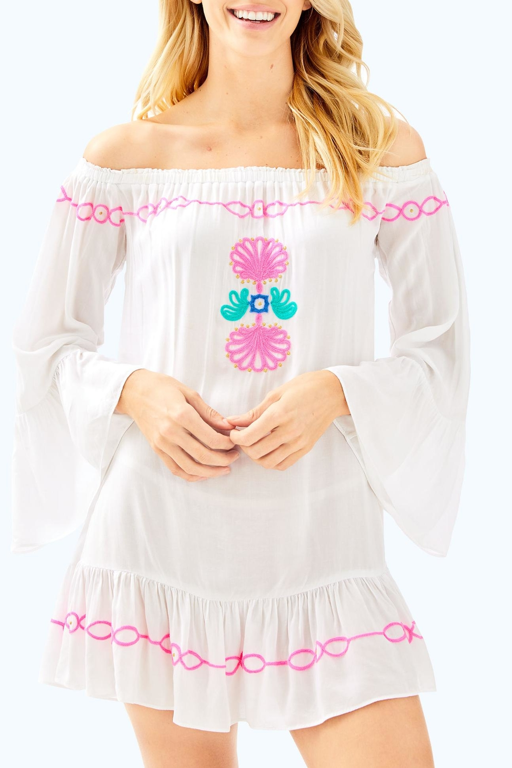 Lilly Pulitzer Nemi Cover Up - Main Image