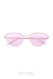 MALANDRA Jewelry Nena-Pink Via-Vnilla Sunglasses - Product Mini Image