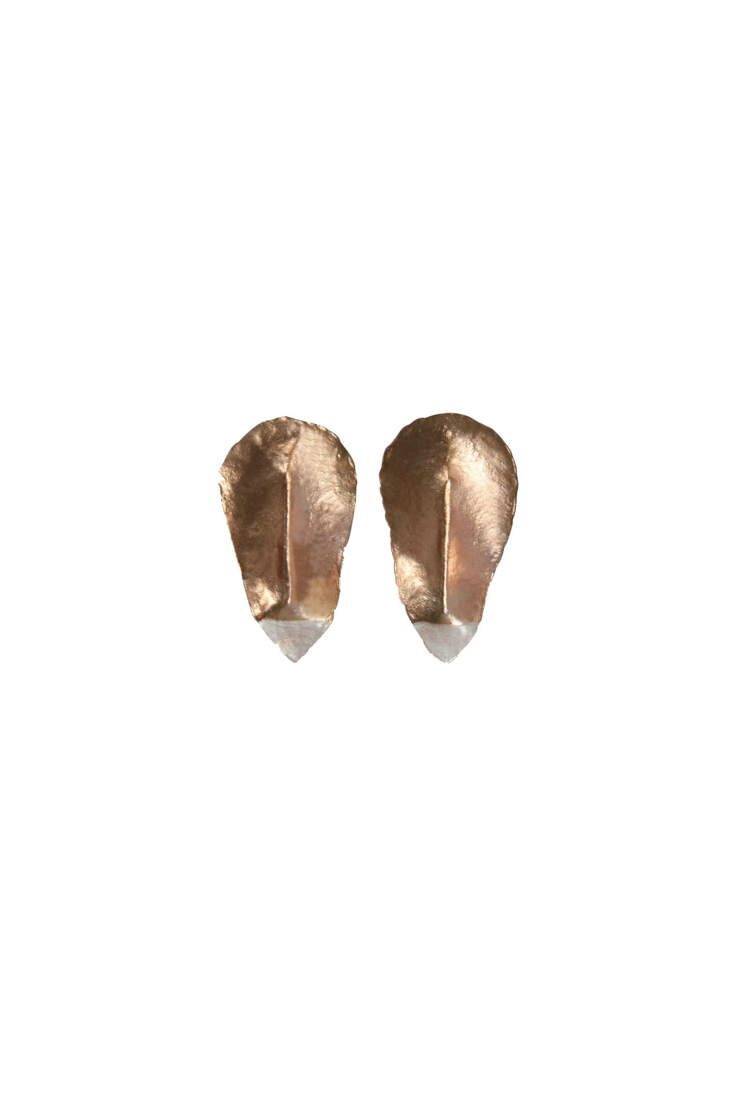 The Habit: Art! Neo Acacia Earrings - Front Full Image