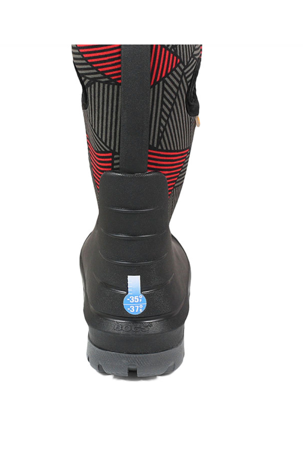 BOGS Neo-Classic Big Geo Kids' Insulated  Boots - Back Cropped Image