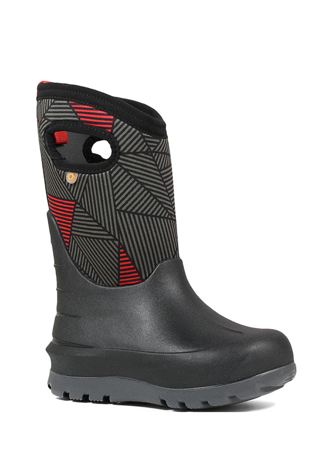 BOGS Neo-Classic Big Geo Kids' Insulated  Boots - Front Full Image