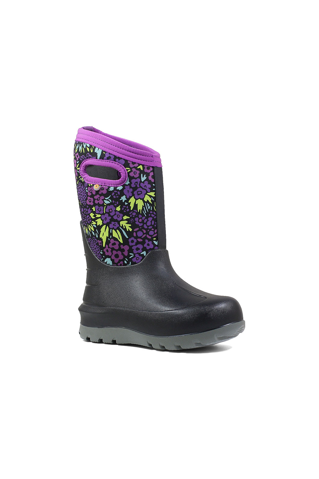 BOGS Neo-Classic NW Kids Waterproof Insulated Boots - Front Full Image